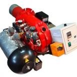 Горелка AL-35V (120-360 кВт) для котла на отработанном масле, Киров